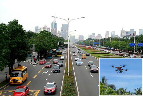 深圳交警成立无人机中队,无人机成路面执法利器