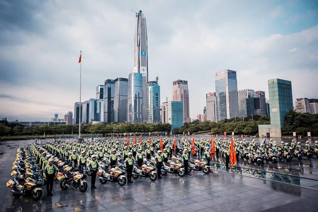 深圳交警爆发洪荒之力,交通管理科技创新全国领先