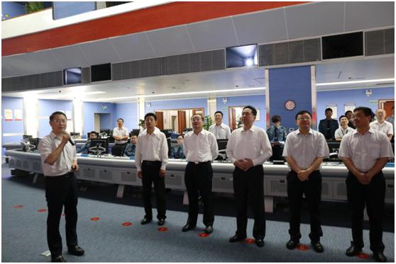 【大交通】李小鹏部长一行赴深圳市交通运输委综合交通运行  指挥中心调研