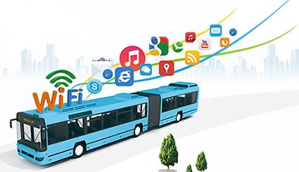 沈城公交车安装免费WiFi,还有交友等新玩法哦