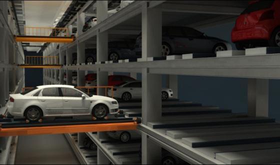 """解决""""停车难"""" 南京示范智能机械停车场即将上线"""