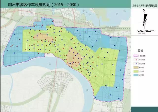 湖北荆州城区停车将分时段实行收费