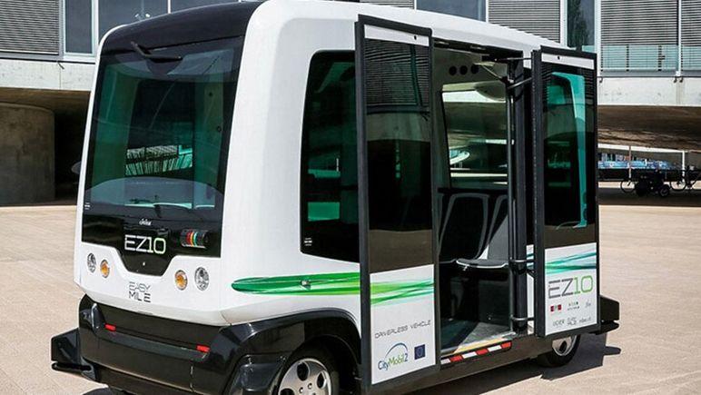 我国自主研发智能无人公交车将服务冬奥会