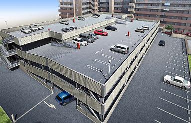 探访青岛首个智能立体停车场 黑科技存车仅90秒