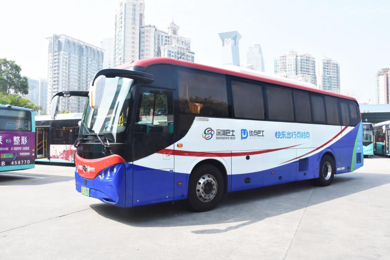 深圳人正式开启定制公交大数据出行时代