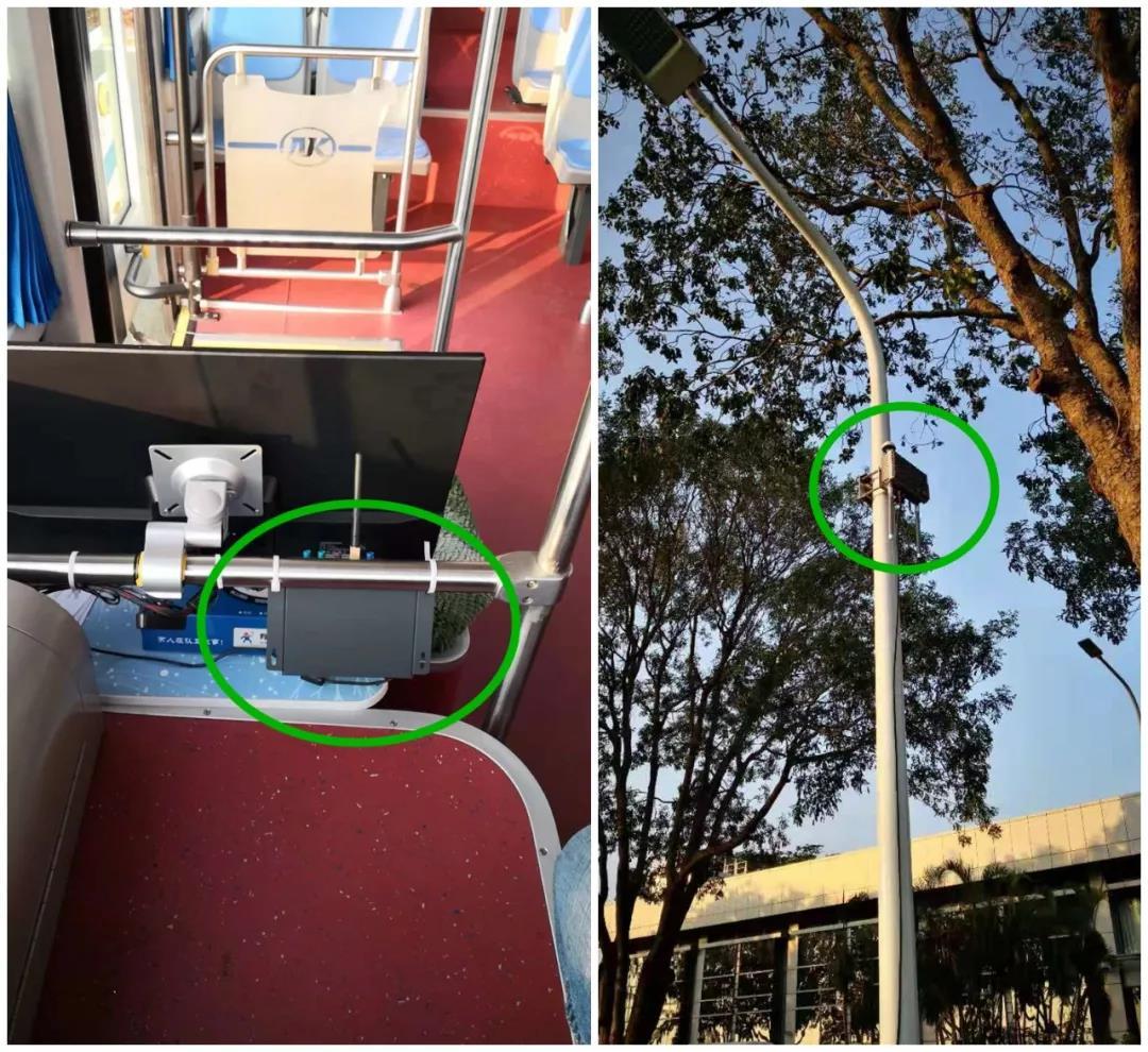 金溢助力V2X应用在全球首例智能驾驶巴士示范基地落地