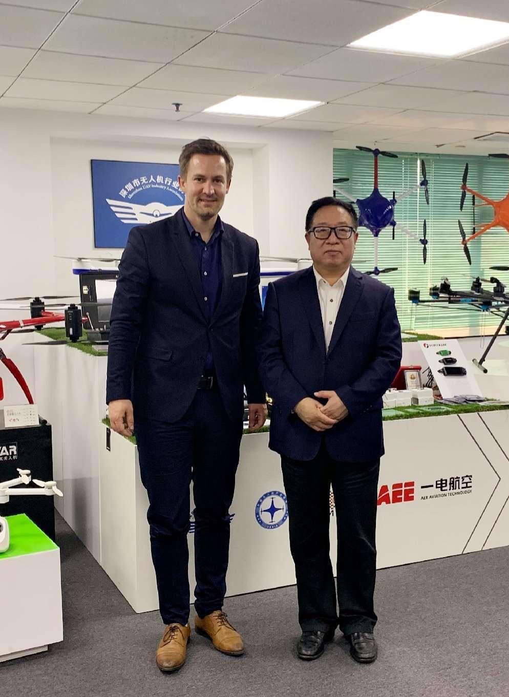 奥地利驻广州总领事馆一行到访深圳智能交通协会、深安协、深无协