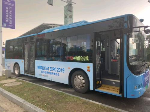 新概念公交亮相物博会,车路协同拉开商用序幕